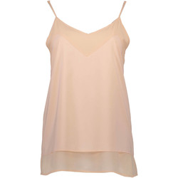 Kleidung Damen Tops Silvian Heach PGP16373TO HB MOGGIA ROSA-ROSA-PULVER