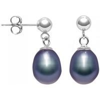 Uhren Damen Ohrringe Blue Pearls BPS K328 W Multicolor