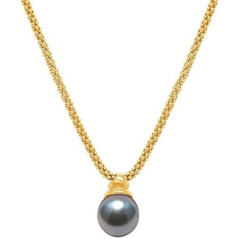 Uhren & Schmuck Damen Collier Blue Pearls BPS K236 W Weiss