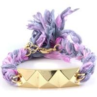 Uhren & Schmuck Damen Armbänder Blue Pearls ETK 0122 Violett