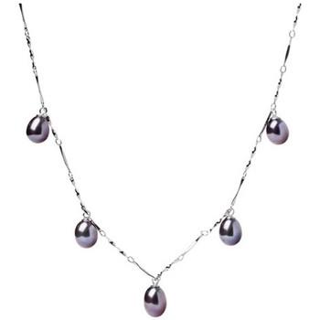 Uhren Damen Collier Blue Pearls BPS 1200 O Schwarz