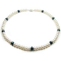 Uhren & Schmuck Damen Collier Blue Pearls BPS 0201 Y Multicolor