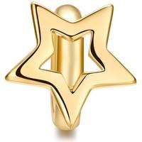 Uhren Damen Schmuck Blue Pearls Charms Stern-Perlen-Edelstahl Gelbgold Multicolor