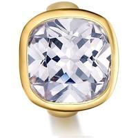 Uhren Damen Schmuck Blue Pearls Charme-Korn-weiße Kristall Edelstahl Gelbgold Multicolor