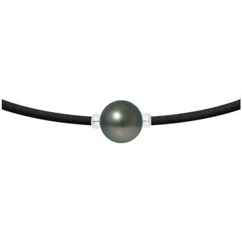 Uhren & Schmuck Damen Collier Blue Pearls BPS K262 W Grün