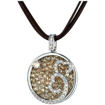 Uhren & Schmuck Damen Collier Blue Pearls CRY E264 J Grün