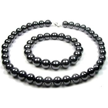 Uhren & Schmuck Damen Schmuck Blue Pearls BPS 0220 Y Schwarz
