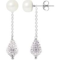 Uhren & Schmuck Damen Ohrringe Blue Pearls BPS K366 W Multicolor