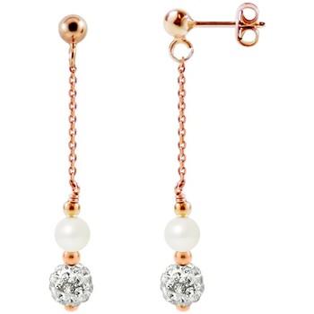 Uhren & Schmuck Damen Ohrringe Blue Pearls BPS K368 W Multicolor
