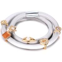 Uhren & Schmuck Damen Armbänder Blue Pearls MIS 2112 U Weiss
