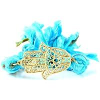 Uhren & Schmuck Damen Armbänder Blue Pearls ETK 0130 Blau