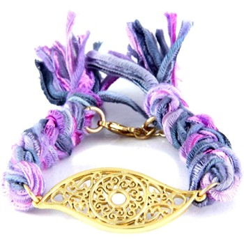 Uhren & Schmuck Damen Armbänder Blue Pearls ETK 0127 Violett