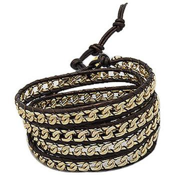 Uhren & Schmuck Damen Armbänder Blue Pearls NUB 3130 E Schwarz