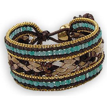 Uhren & Schmuck Damen Armbänder Blue Pearls NUB 3127 E Other