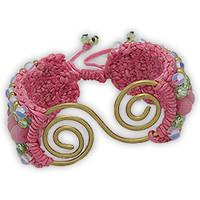 Uhren & Schmuck Damen Armbänder Blue Pearls NUB 3136 E Multicolor