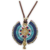 Uhren & Schmuck Damen Collier Blue Pearls NUB 3218 E Multicolor