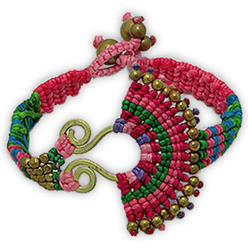 Uhren & Schmuck Damen Armbänder Blue Pearls NUB 3137 E Multicolor