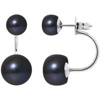 Uhren & Schmuck Damen Ohrringe Blue Pearls BPS K376 W Multicolor