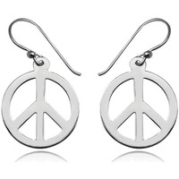 Uhren Damen Ohrringe Blue Pearls Ohrringe Peace 925-Sterlingsilber Other