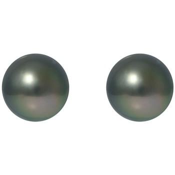 Uhren & Schmuck Damen Ohrringe Blue Pearls BPS K379 W Grün