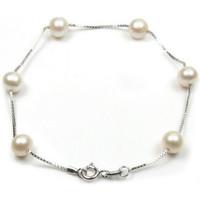 Uhren & Schmuck Damen Armbänder Blue Pearls BPS 0170 Y Multicolor