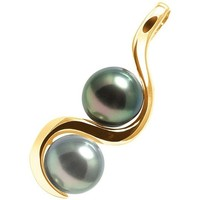Uhren & Schmuck Damen Anhänger Blue Pearls BPS K217 W Gold