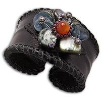 Uhren & Schmuck Damen Armbänder Blue Pearls NUB 3111 E Multicolor