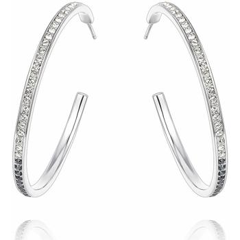 Uhren Damen Ohrringe Blue Pearls CRY B358 W Schwarz