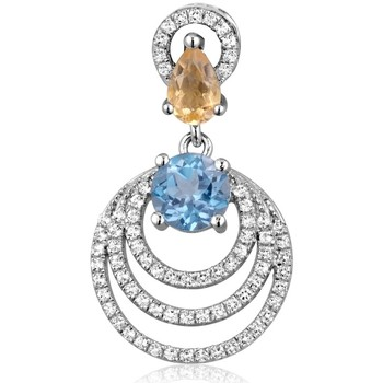 Uhren & Schmuck Damen Anhänger Blue Pearls CRY J253 X Multicolor