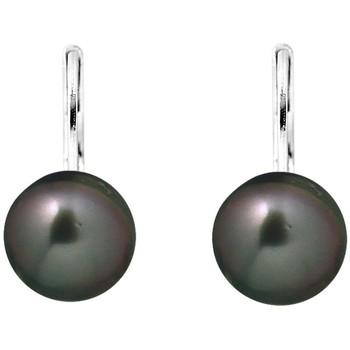 Uhren & Schmuck Damen Ohrringe Blue Pearls BPS K346 W Grün