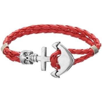 Uhren & Schmuck Damen Armbänder Blue Pearls MEN OP147 K Grau