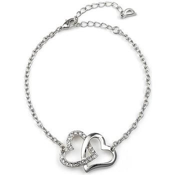 Uhren & Schmuck Damen Armbänder Blue Pearls CRY A100 G Weiss