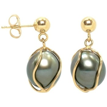 Uhren Damen Ohrringe Blue Pearls BPS K347 W Gold