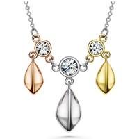 Uhren & Schmuck Damen Collier Blue Pearls CRY F224 L Multicolor