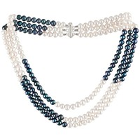 Uhren Damen Collier Blue Pearls BPS 0100 Y Multicolor