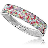 Uhren & Schmuck Damen Armbänder Blue Pearls CRY A144 G Multicolor