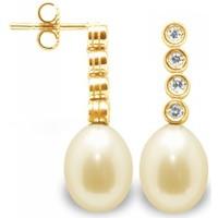 Uhren & Schmuck Damen Ohrringe Blue Pearls BPS K361 W DORE Multicolor