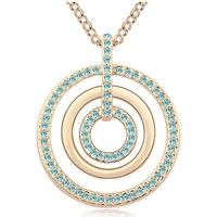 Uhren & Schmuck Damen Collier Blue Pearls GS 120 Multicolor