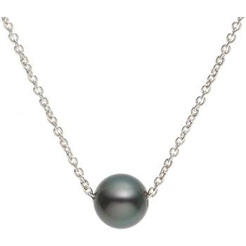 Uhren & Schmuck Damen Collier Blue Pearls BPS 0241 W Grün