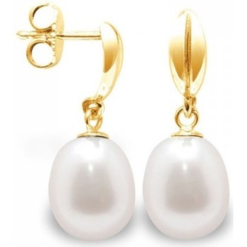 Uhren & Schmuck Damen Ohrringe Blue Pearls BPS K316 W Multicolor