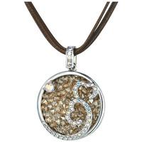 Uhren & Schmuck Damen Collier Blue Pearls CRY E751 J Grün