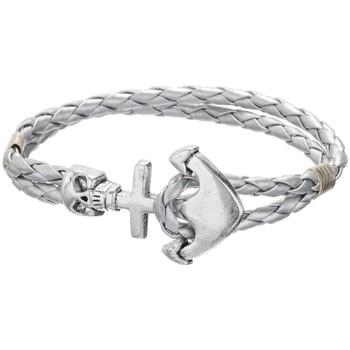 Uhren Damen Armbänder Blue Pearls MEN OP147 K ARGENT Grau