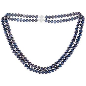 Uhren & Schmuck Damen Collier Blue Pearls BPS 0127 Y Multicolor