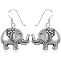 Uhren Damen Ohrringe Blue Pearls Ohrringe Elefant 925-Sterlingsilber Other