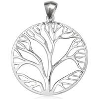 Uhren Damen Anhänger Blue Pearls Baum Anhänger 925 Silber Other