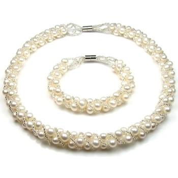 Uhren Damen Schmuck Blue Pearls BPS 0139 Y Weiss