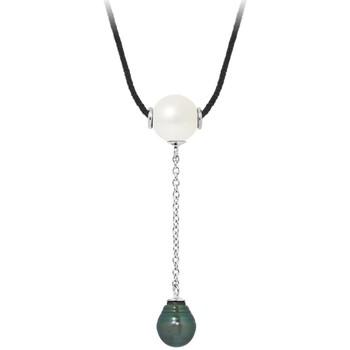 Uhren & Schmuck Damen Collier Blue Pearls BPS K713 W Multicolor