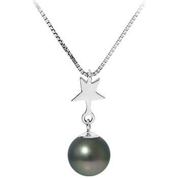 Uhren & Schmuck Damen Collier Blue Pearls BPS K723 W Grün