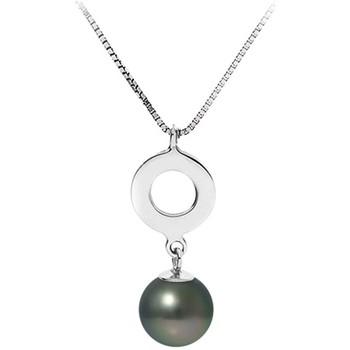 Uhren & Schmuck Damen Collier Blue Pearls BPS K722 W Grün