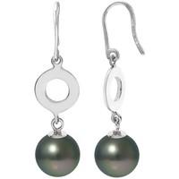 Uhren & Schmuck Damen Ohrringe Blue Pearls BPS K382 W Grün